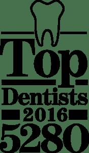 Top Dentists 2016 5280 Magazine