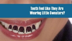 sweater teeth